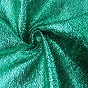 Snakeskin Metallic Fabric Carnival Fabric Grass Green Black 1.4 m wide