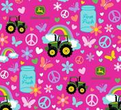 John Deere Farm Fresh Fabric, Cotton, Multicolor