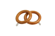 Curtain Victory Wooden 28mm Wood Rings Rail Window Fittings