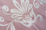 Pink/White Floral Chenille Prestigious Textiles Designer Material Sewing Upholstery Curtain Craft Fabric