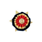 Showquest Boston Button Hole One Size navy/red/gold