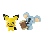Tomy Pokemon T19177 - Action Figures Komala and Pichu from 4 years