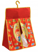Yuga Toys Theme 100% Cotton Twill Hanging Nappy Bag Nappy Stacker Organiser
