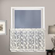 United Curtain Madame Window Curtain Kitchen Tier, Natural, 130cm x 60cm