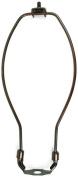 Jandorf 60128 Detachable Lamp Harp, 25cm L X 10cm - 1.1cm W, Antique Bronze