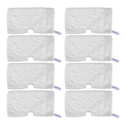 KEEPOW 8 Pcs Steam Mop Pads Replacement for Shark S3500 S3501 S3601 S3550 S3901
