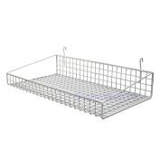 Full Size Basket for Mesh/Gridwall in Black or White (K31+)