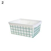Dreammy Iron Storage Basket Books Fruit Basket Storage Home Groceries Storage Baskets