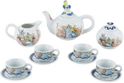 Cardew Alice in Wonderland - Through the Looking Glass miniature teapot teacup tea set