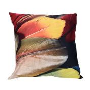 squarex Visual Impact Colourful Print Pillow Cases Sofa Car Cushion Cover Home Decor