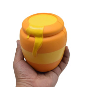 Honey Cans Squishy Decor Cream Scented Squishy Stress Relief Toy ,YannerrDoll Slow Rising Soft Pinch StressReliever Kid Toy Phone Charm