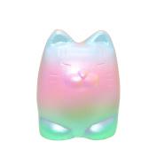10cm Rainbow Tiger Cream Scented Squishy Stress Relief Toy ,YannerrDoll Slow Rising Soft Pinch StressReliever Kid Toy Phone Charm