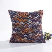 squarex Knitting Fashion Throw Pillow Cases Cafe Sofa Cushion Cover Home Decor