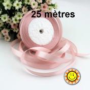 1 Roll x 10 mm per 25 metres Dusky Pink