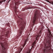 High Quality Crushed Ice Velour Velvet Curtain Upholstery Craft Material Fabric