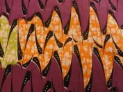 Fabric Wax Benin Nigeria N ° 29 180 x 120 cm