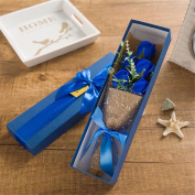 Christmas gifts Valentine's Day gifts, 5 soap flowers, soap roses, birthday gifts,Blue