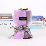 Christmas gifts Creative gifts, Korean hand holding flower, 11 simulation soap bouquet, Valentine's day birthday gift,Violet