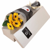 Christmas gifts Teacher's Day gift, father's Day gift, soap flower, flower bouquet gift box, send dad, teacher