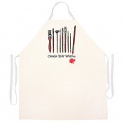 "Attitude Aprons Fully Adjustable ""Choose Your Weapon"" Artist Apron"