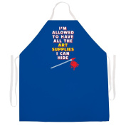 "Attitude Aprons Fully Adjustable ""Art Supplies"" Artist Apron"
