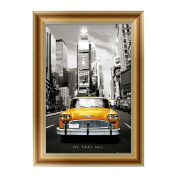 KAYI 5D Diamond Painting Car Partially-drilled Rhinestone Hand Craft Painting Home Decor 30*40cm