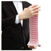 Electric Deck | Waterfall Deck | Easy Magic Trick | Simple To Do | Card Manipulation | Stage Magic | Professional Magic Prop | Street Magic | Children's Kids Entertainer | **Dispatched From UK**