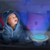 Musical Turtle Star Projector Nightlight