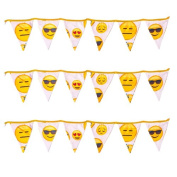 Ready Steady Bed® Emoji Girl Design Children's Polycotton Bunting Room Decoration