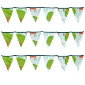 Ready Steady Bed® Le Farm Design Children's Polycotton Bunting Room Decoration