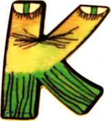 Mihatsch & Diewald ImseVimse Janosch Wooden Letter K 6 cm
