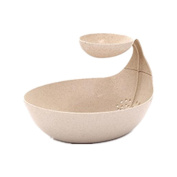 Tonsee Creative Fruit Storage Box Bowl Perfect for Seeds Nuts And Dry Fruits Storage Box