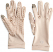 Coolibar - UV resistant gloves with touch compatibility - Beige