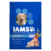 IAMS PROACTIVE HEALTH Large Breed Senior Plus Dry Dog Food 12kg