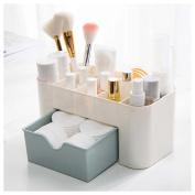 Comestics Makeup Storage Drawer Box Fuibo Makeup Drawer Type Storage Box Case Cosmetic Jewerly Display Box Cosmetic Case Storage Saving Space Desktop Drawer Box