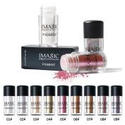 Niceyo Pearl Eyeshadow Powder Smoky Eye Makeup Glitter Shinny Charming 09#