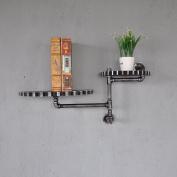 LNPP American Country Style DIY Wall Shelf Bathroom Storage Home Decor