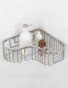 Extremely Firm Shower Shelf Stainless Steel Network Shelf Bathroom Accessories Toilet Shelves Triangular Mesh Basket Bathroom Kitchen Racks ensuring quality