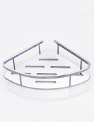 Extremely Firm Shower Shelf Bathroom Triangular Rack Stainless Steel Bathroom Tripod Toilet Shelves Wall Hanging Triangle Basket ensuring quality