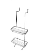 Extremely Firm Shower Shelf All Refined Copper Wall Mounted Bathroom Rack Basket Double Layer Mesh Basket Bathroom Accessories ensuring quality