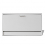 Festnight Shoe Storage Bench Hallway Cabinet with Drawer for Living Room 80 x 24 x 45 cm
