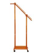 Floor Stand Hanging Rack Coat Rack Creative Oblique Hanger With Wheels Bedroom Hanger Floor-standing Coat Stand Floor Standing Coat and Hat Stand