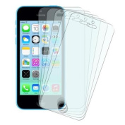 Insten 5 X Matte Anti Glare Front LCD Screen Protector Guard Film Cover For iPhone SE 5/5G 5S 5C