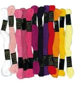 Lot de 12 échevettes en coton pour fabriquer brésiliens the bracelets