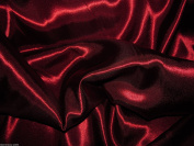 Burgundy Satin Silky Fabric Plain Dress And Craft Material 150cm Wide - £2.85 metre