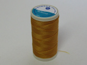 Coats Nylbond Sewing & Beading Thread (Bonded Nylon) For jeans, leather, elasticated fabrics & jewellery making - Gold 5690