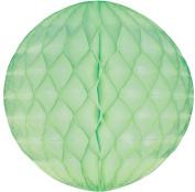 Tissue Paper Honeycomb Ball Decoration 20cm - Lime Sherbet #4702-083