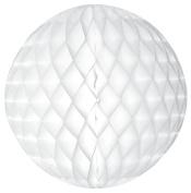 Tissue Paper Honeycomb Ball Decoration 20cm - White #4702-008