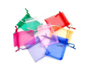 Kelaina Approx.100Pcs Organza Drawstring Candy Gift Mesh Bags for Jewellery Wrap Bags
