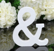 Fhouses 1pc & Themp; Wooden Letters Wedding DecorThetiThet / Present